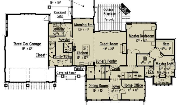 one story house plans with two master bedrooms