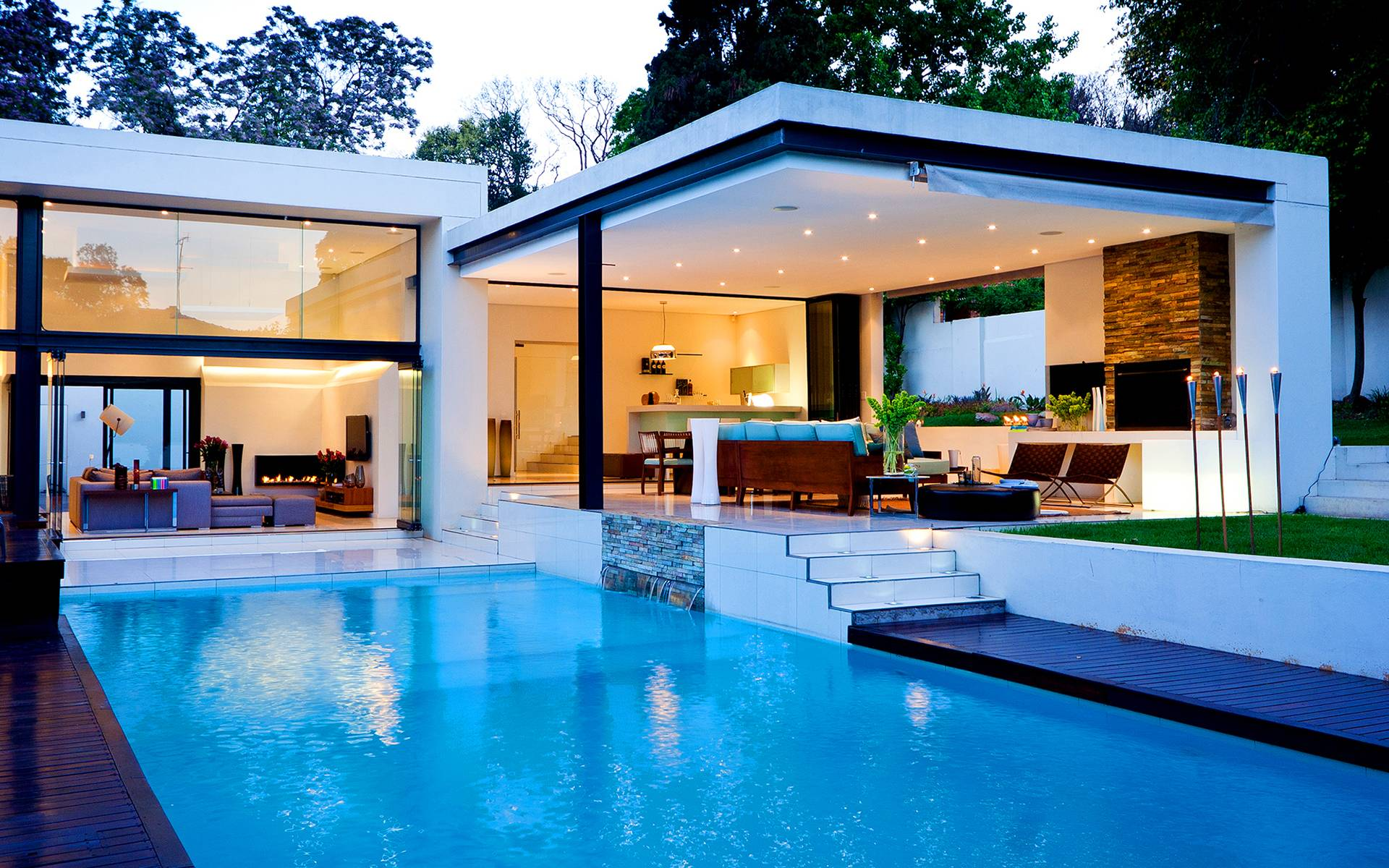 Luxury house pool photos