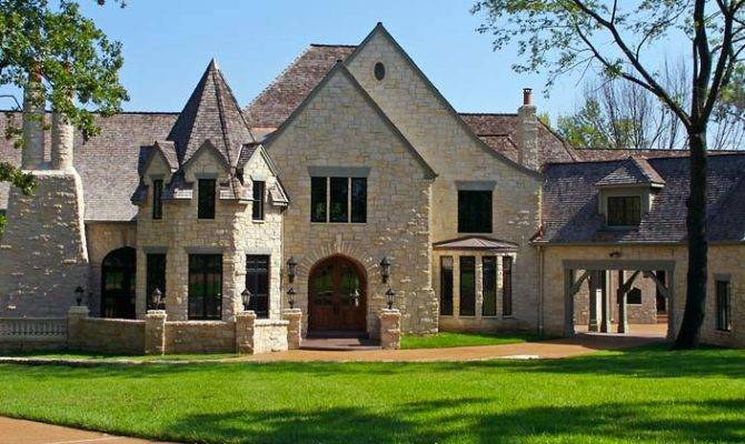 Luxury Stone Homes Inspiration House Plans 44951