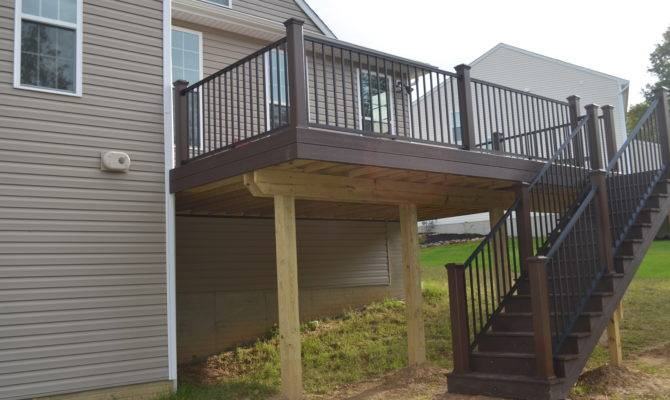 Stunning 22 Images 2Nd Story Deck Plans - House Plans | 45450