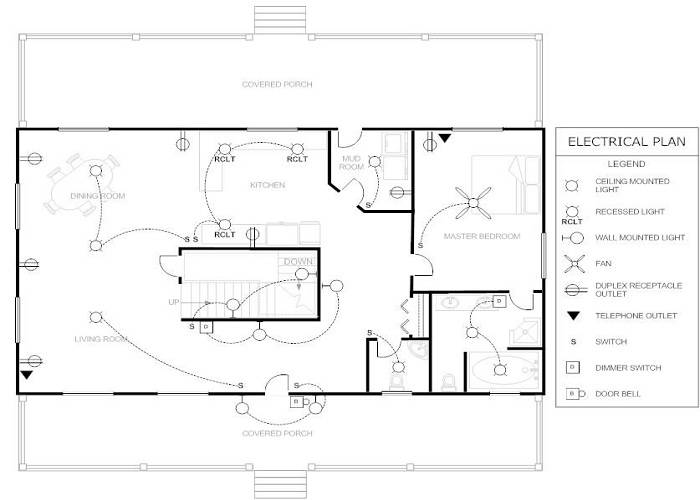 Electrical Floor Plan Sample,Floor.Home Plans Ideas Picture