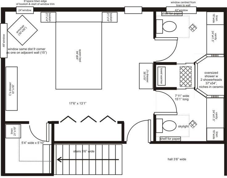 22 Best Master Bedroom Plan House Plans 20037