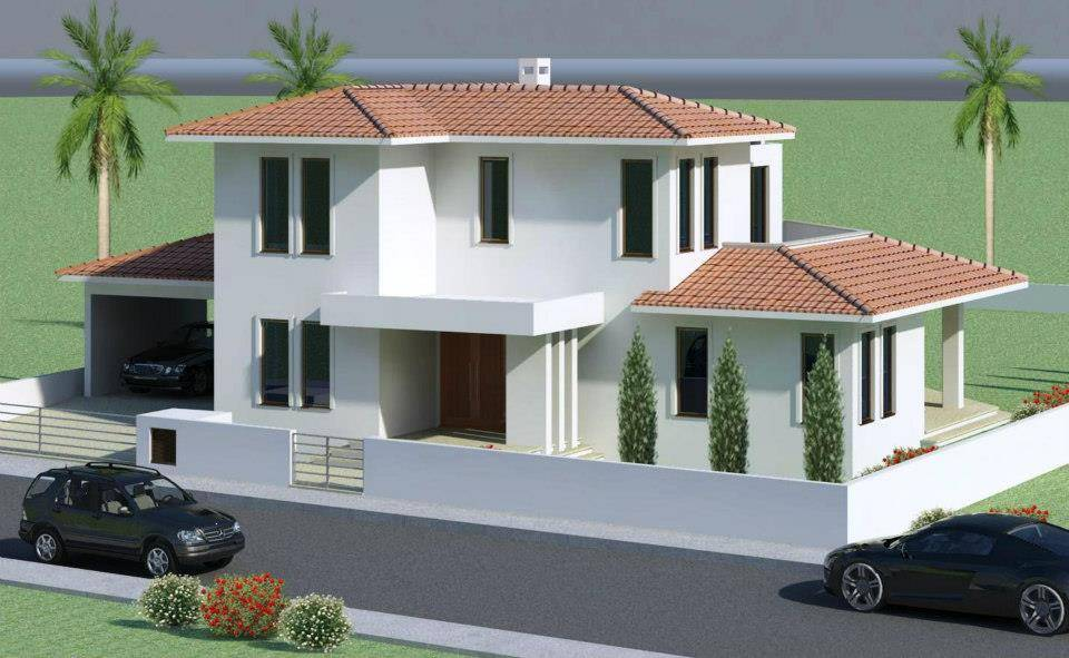 Mediterranean Modern Homes Exterior Designs - House Plans | #13759