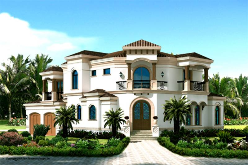House Mediterranean Style  House Design Ideas - Mediterranean style house