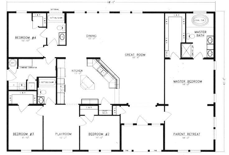 Metal Homes Floor Plans Get Rid 42804 Simple Affordable Home Plans 7 On Simple Affordable Home Plans