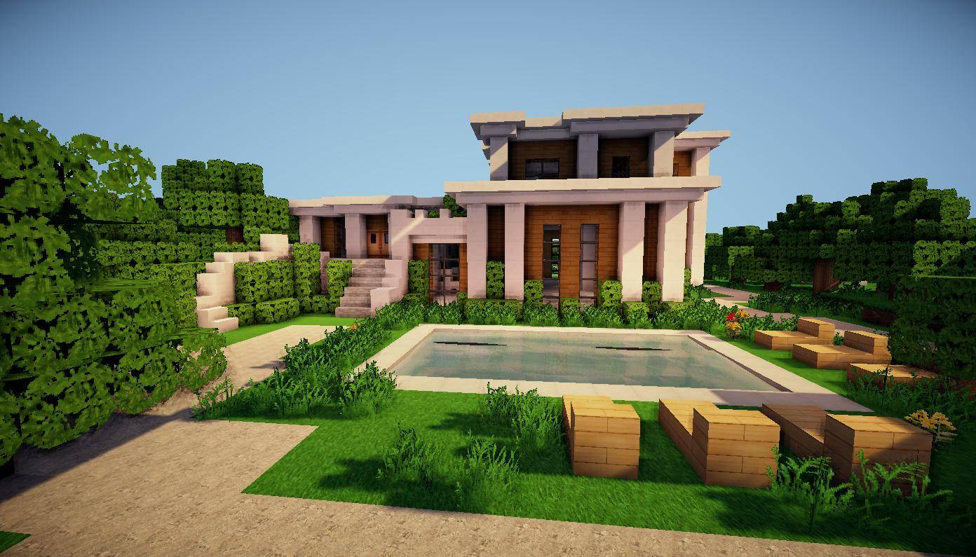 Minecraft amazing house ideas bookModern house minecraft plans. Minecraft Modern House Interior Design. Home Design Ideas