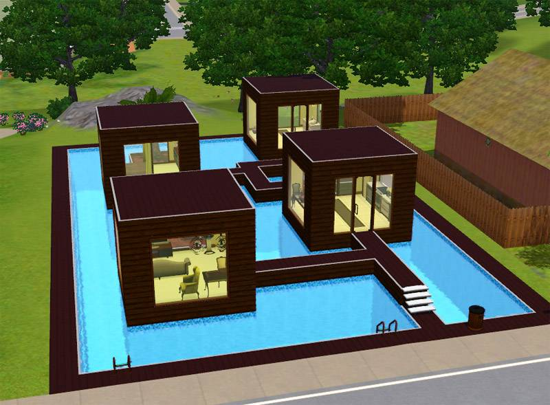 Mod Sims Water Chestnut Awesome Sims 3 Ideas For Houses Pictures House  Plans 61961. The