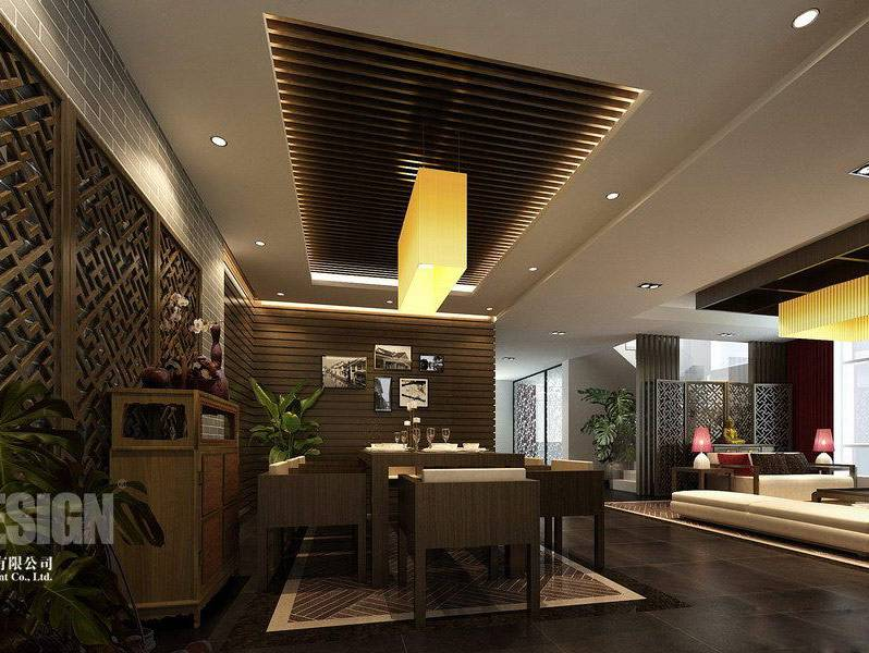 Modern chinese house plans House interior
