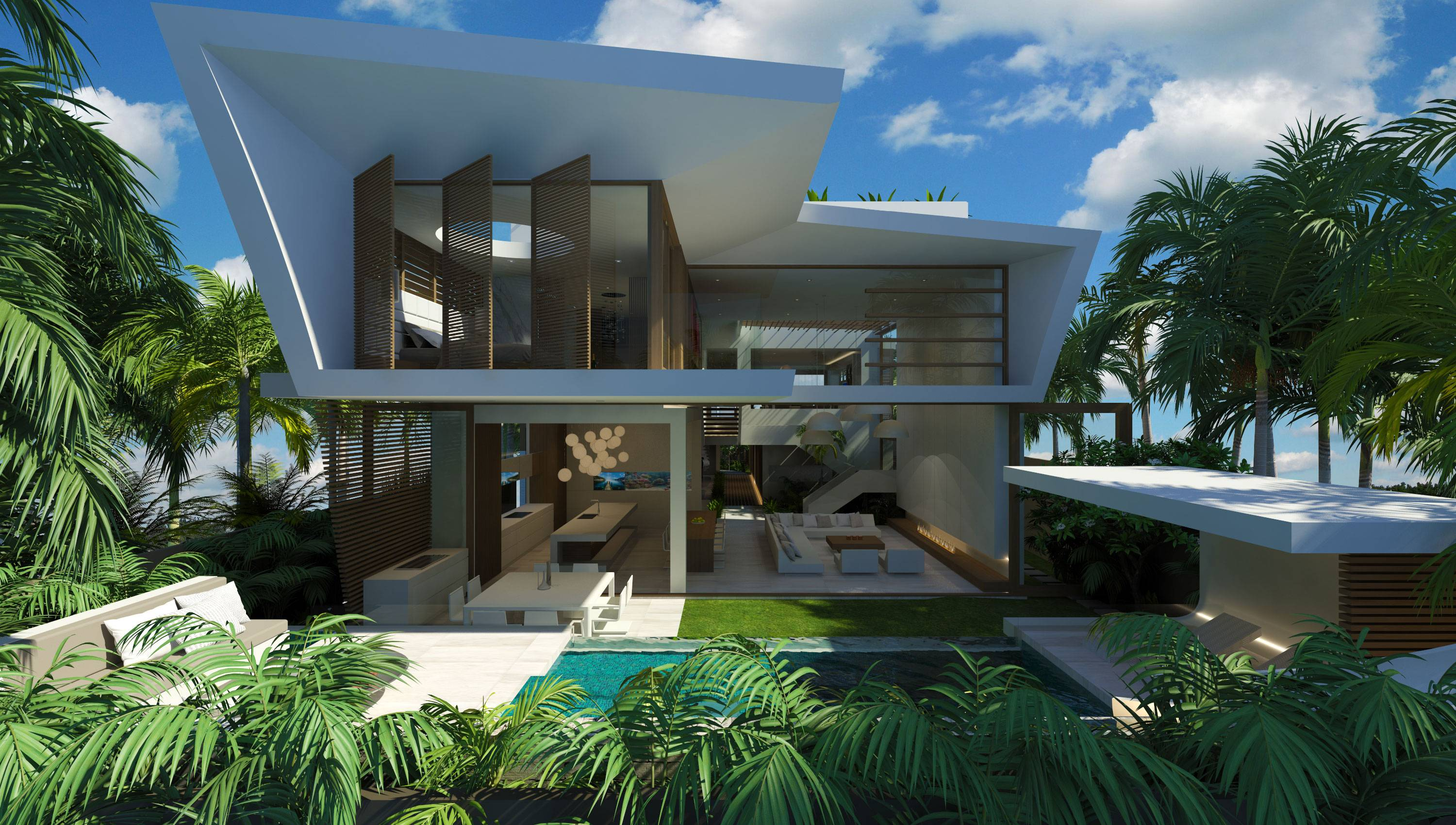 Modern Architecture Beach House modern house plans beach