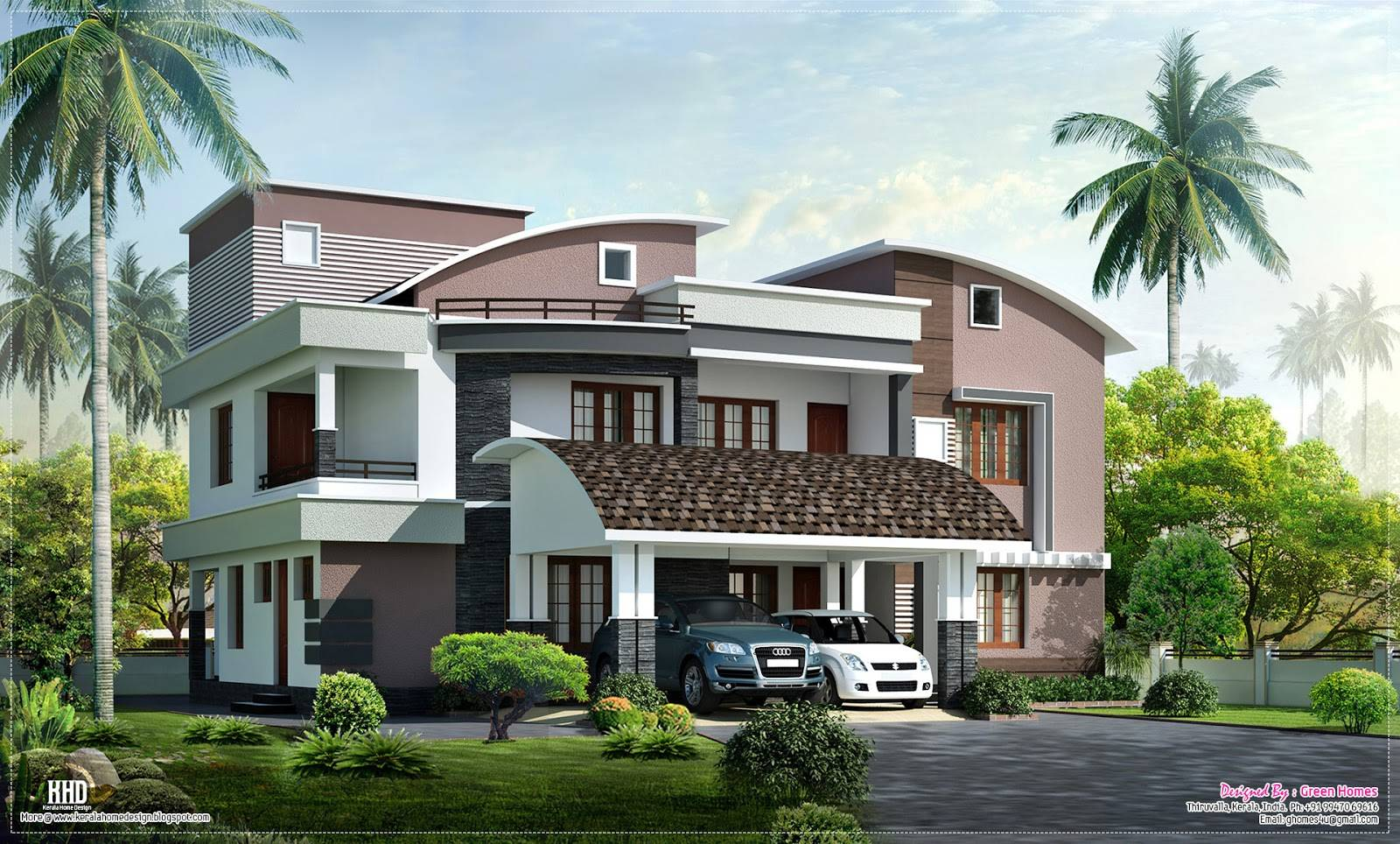 simple house plan drawing – Modern House