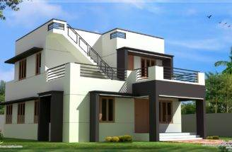 Modern House Design Feet Plans