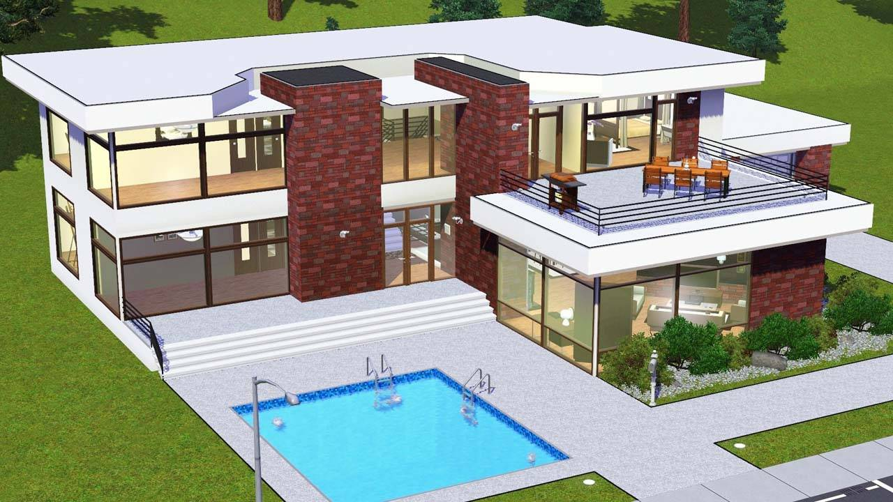 House floor plan sims 3