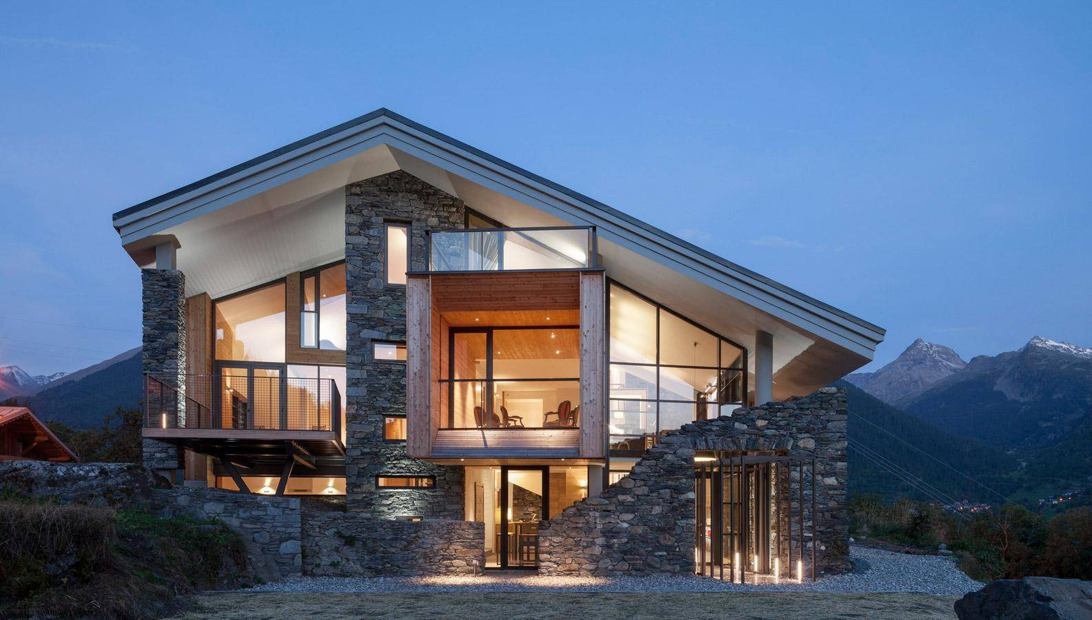 Modern House On Mountain Modern House