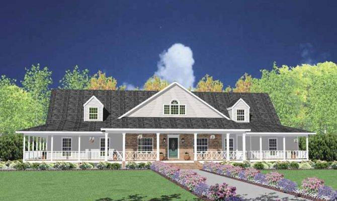 one story farmhouse plans 18 single story farmhouse photo house plans 43153 - Farmhouse Plans