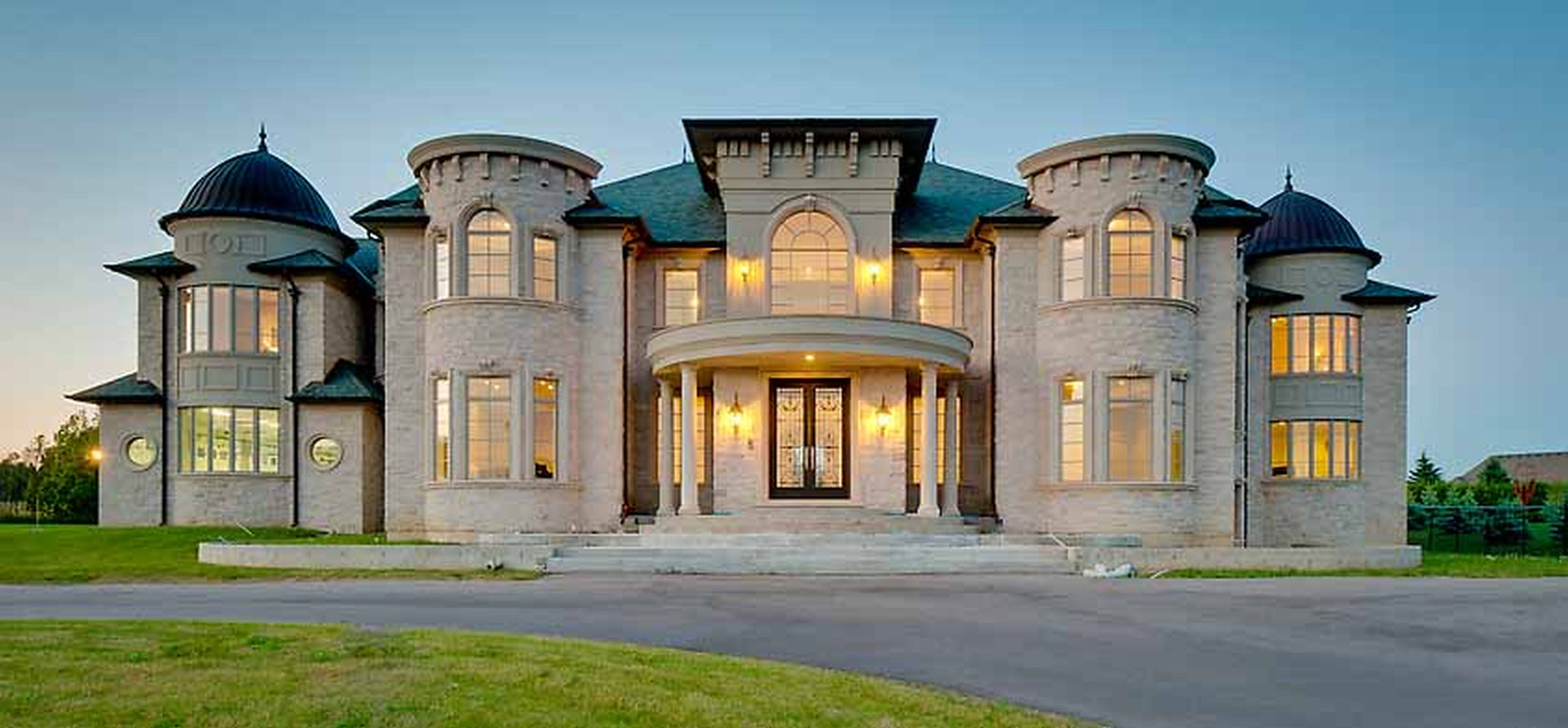 Beautiful Luxury Homes With Stucco And Brick Floor Plans With Exterior  Stucco Ideas