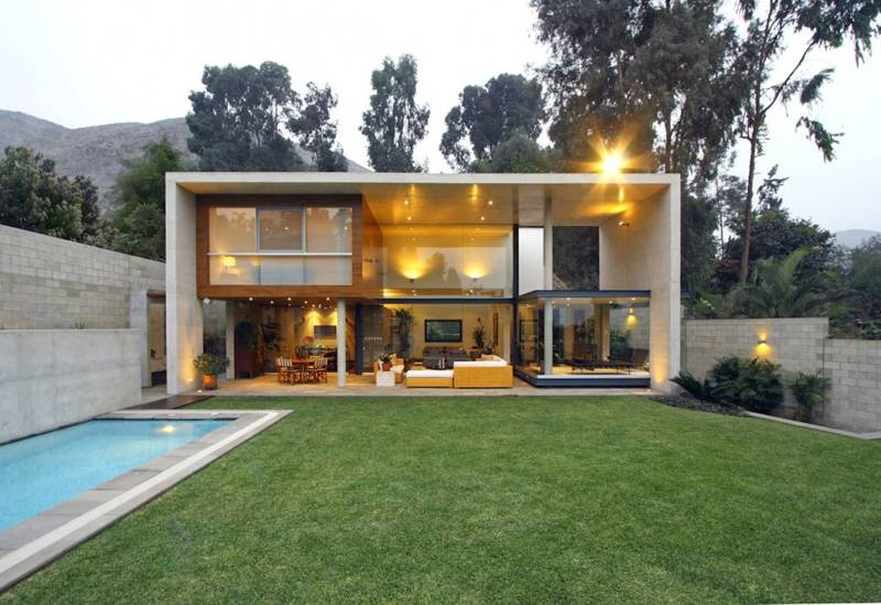 this is the related images of Rectangular Houses