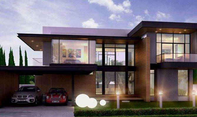 Stunning 17 Images Modern Residential House Plans House