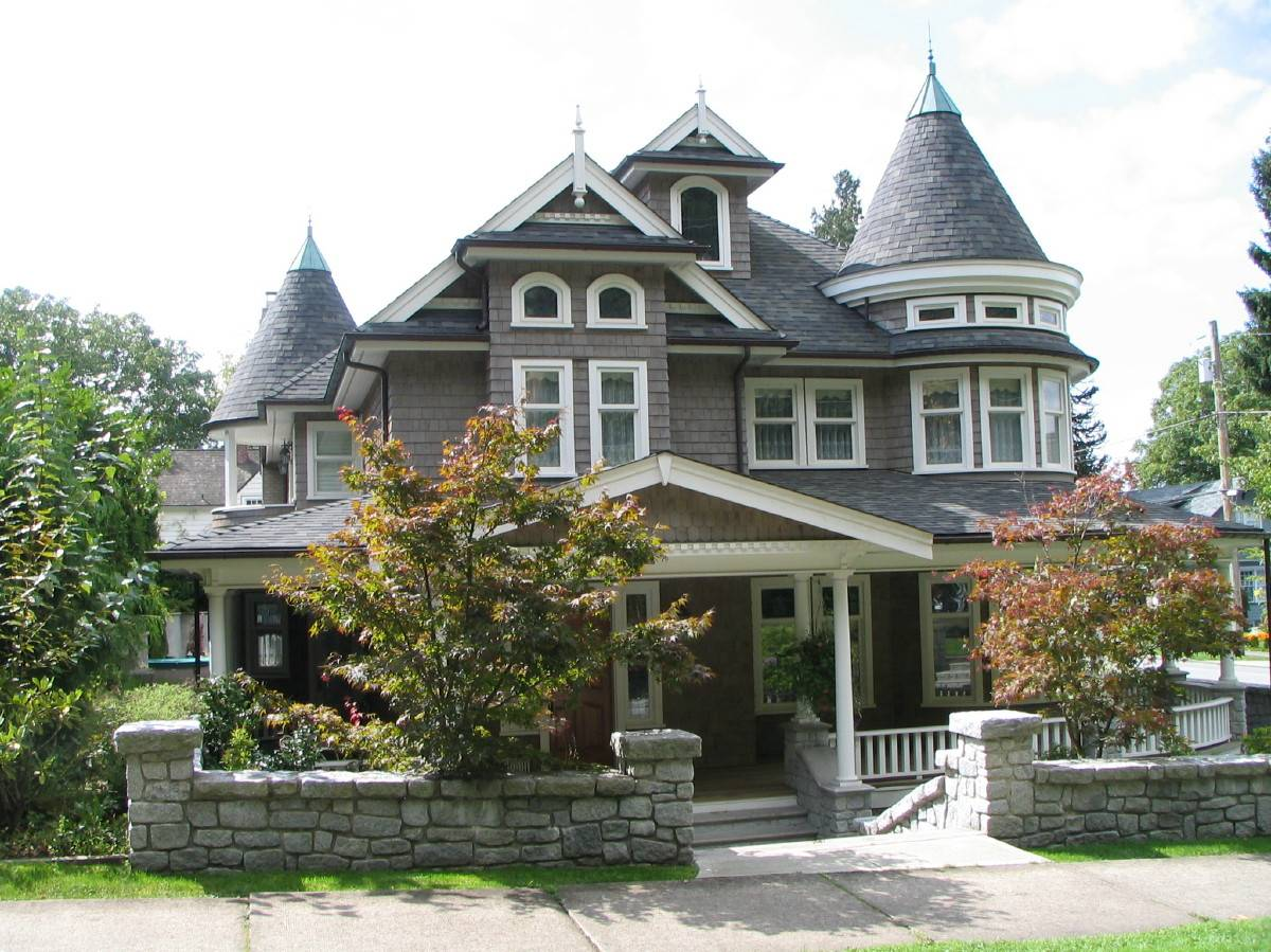 Modern victorian style houses - House style