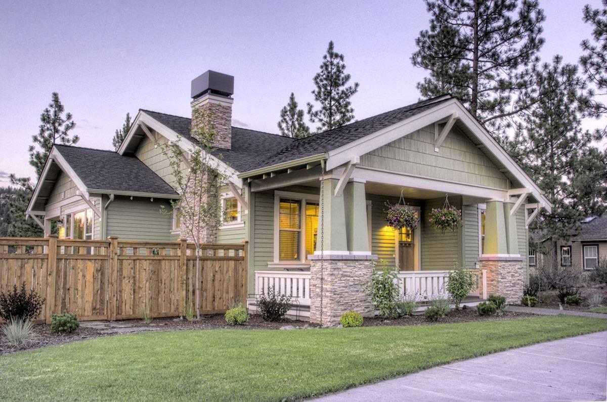 Craftsman style home design plans