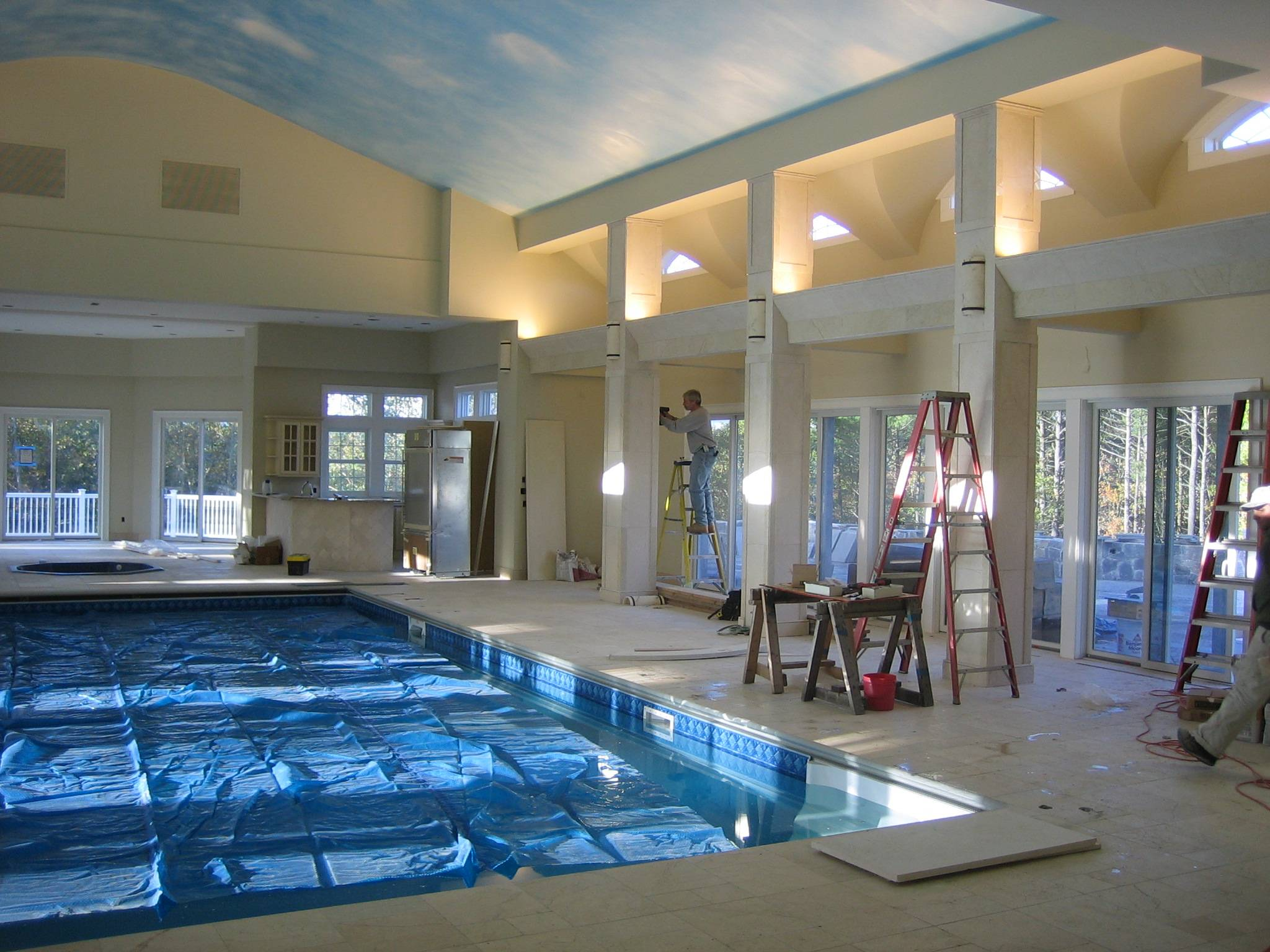 Houses with pools inside - Nice Houses Indoor Pools Build Pool House