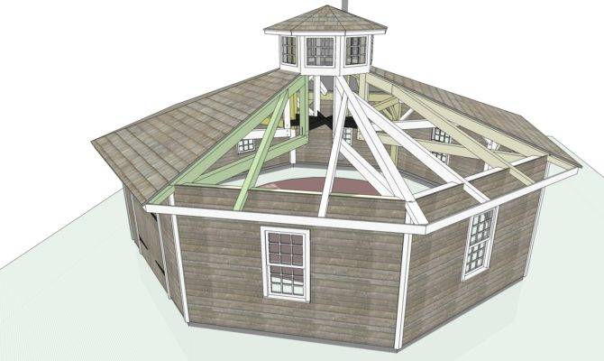 Octagon Shaped House Plans