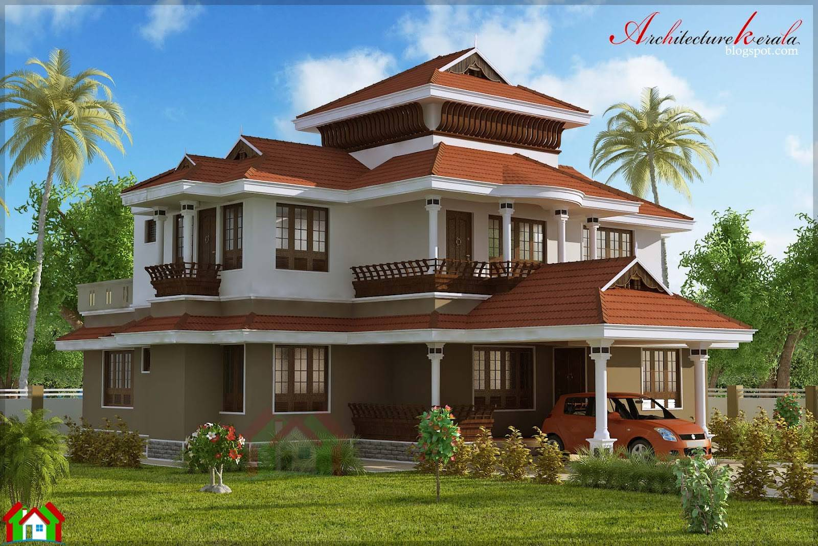 Old Kerala Traditional Style House Design Home Have Four - House