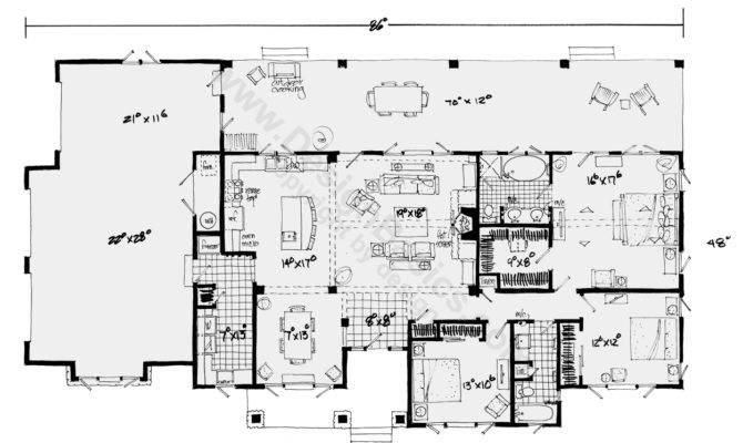 awesome open to below house plans 18 pictures house plans 76663