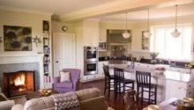 Open Concept Kitchen Living Room Design Ideas Sortra