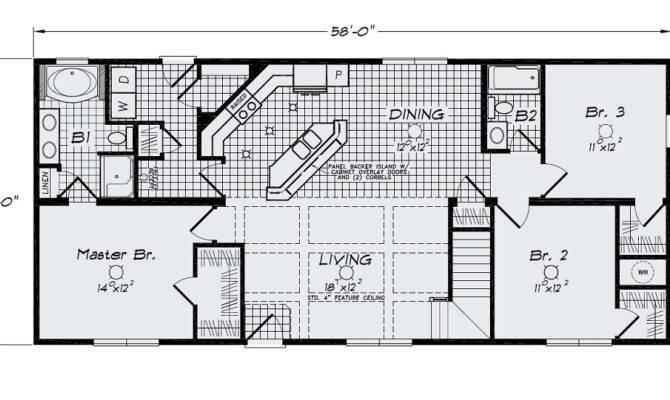 Open Floor Plan Large Kitchen Bar Island Sink Standard   House Plans     58942. Open Floor Plan Large Kitchen Bar Island Sink Standard   House