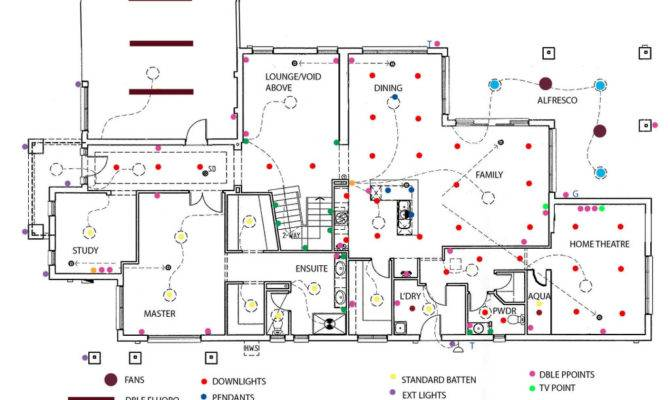 Our Attempt Electrical Plan Suggestions Appreciated Home - House ...