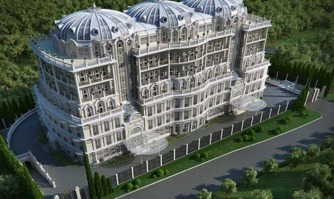 Palatial home plans