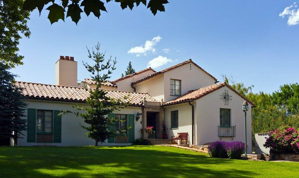 Panoramio Spanish Colonial Revival House House Plans