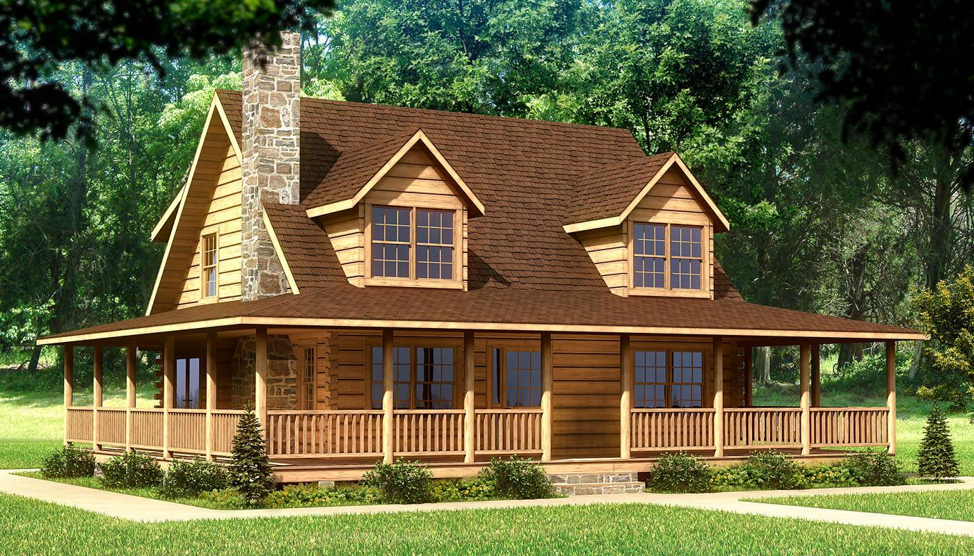 Log abin House Plans With Loft Ideas - House Plans  2108 - ^