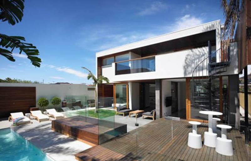 Tropical modern design houses
