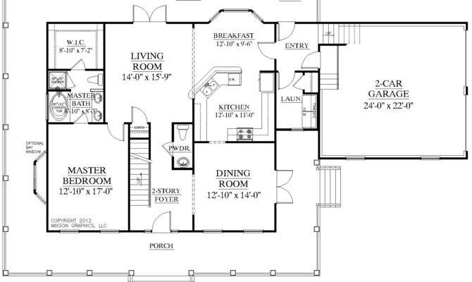 24 Best Photo Of One Story Floor Plans With Two Master Suites