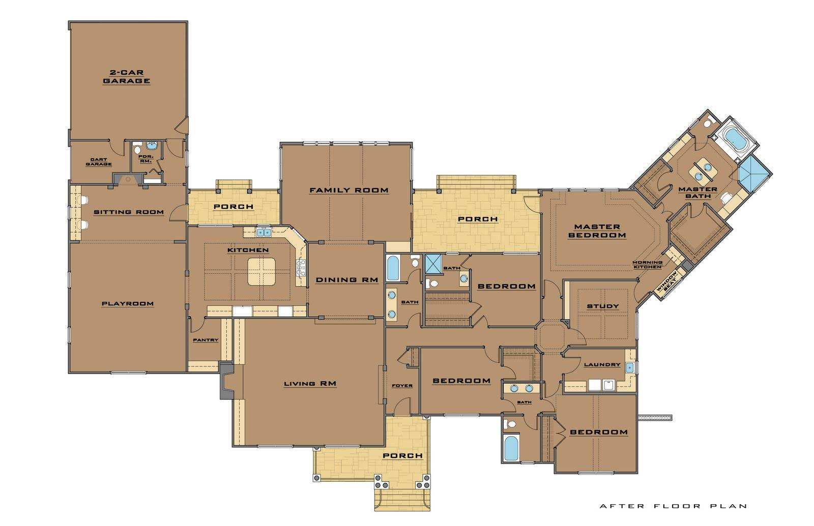 24 Surprisingly Single Story House Plans With 2 Master Suites. 24 Surprisingly Single Story House Plans With 2 Master Suites