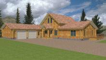 Plans Country House Log Cabin Mountain Home