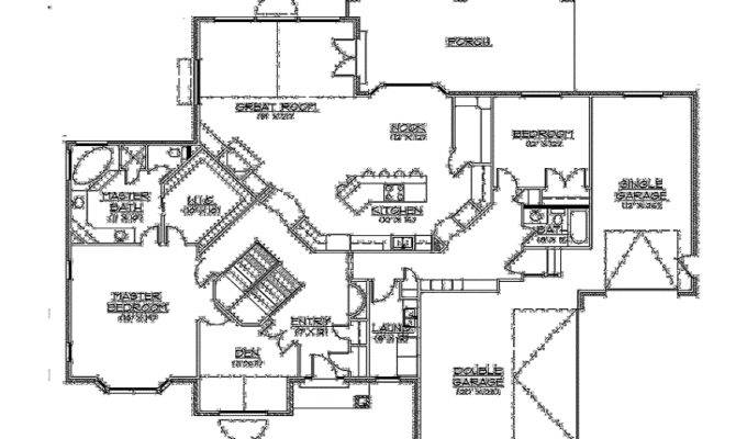 15 Surprisingly One Floor House Plans With Walkout Basement