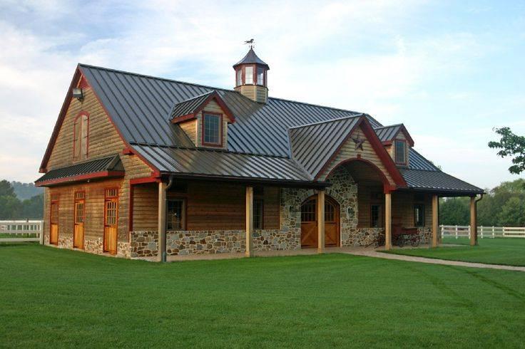 American Barn House Plans