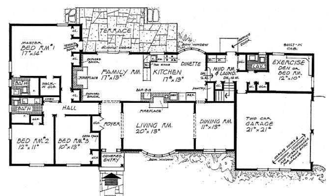 Superb Ranch Style Floor Plan Ideas House Plans 70774 Largest Home Design Picture Inspirations Pitcheantrous