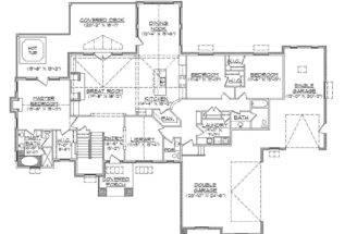 Rambler Floor Plans Basement Pin Pinterest