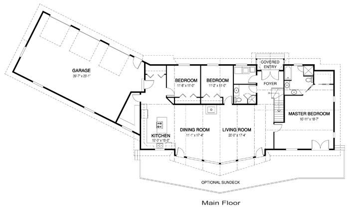 Ranch Basements Sunroom House Plans Home Design House Plans 45719