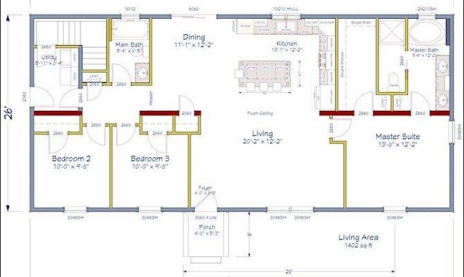 21 Simple Ranch Floor Plans Open Concept Ideas Photo House Plans