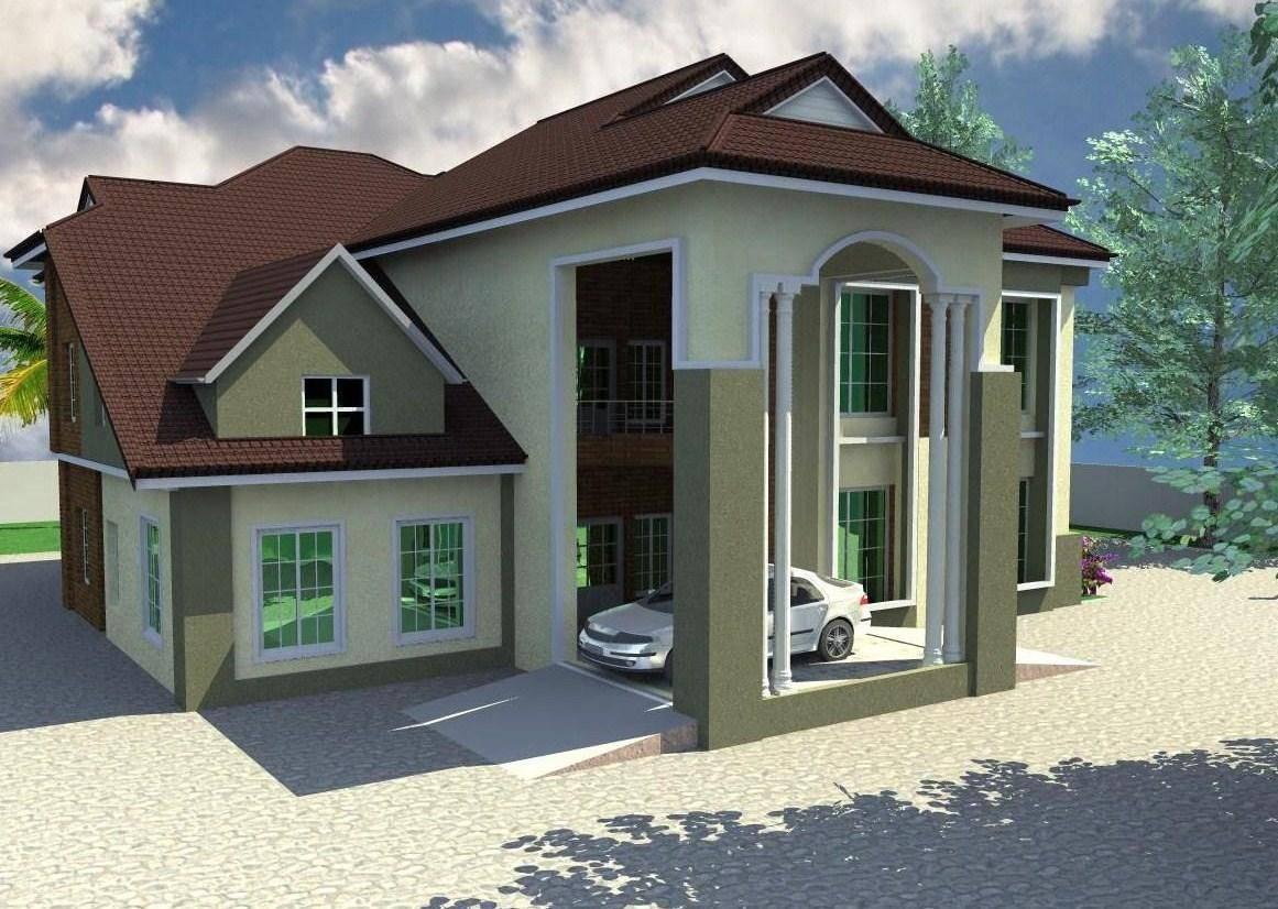 Residential Homes Public Designs Bedroom Duplex House Plans 18209