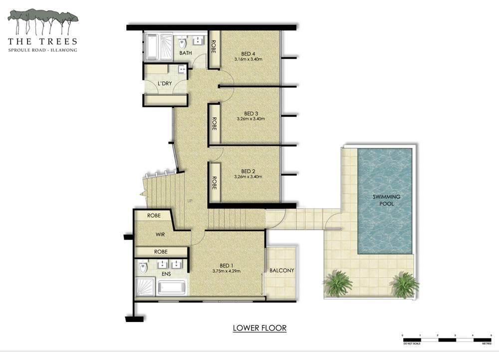 Floor Plan Of Residential Building