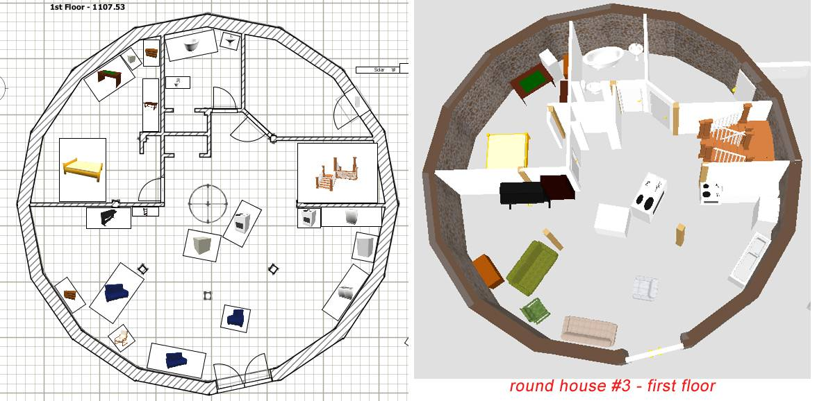 Circular House Floor Plans House Design Ideas