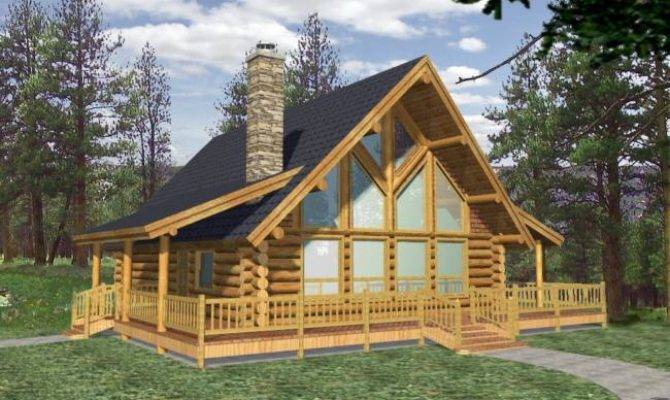 Awesome lake cabin floor plans with loft pictures house for Rustic lake cabin plans