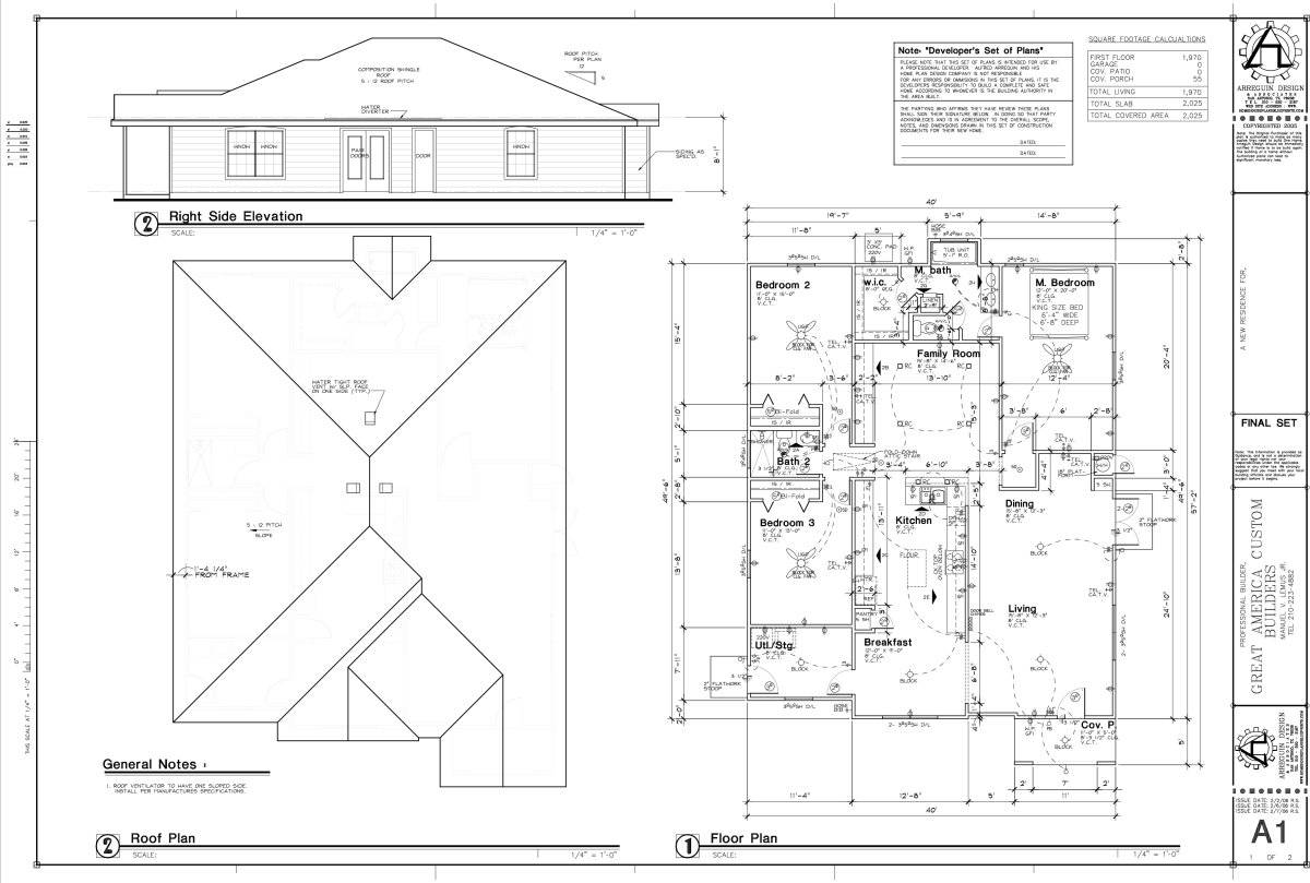 Sample House Plans - ^