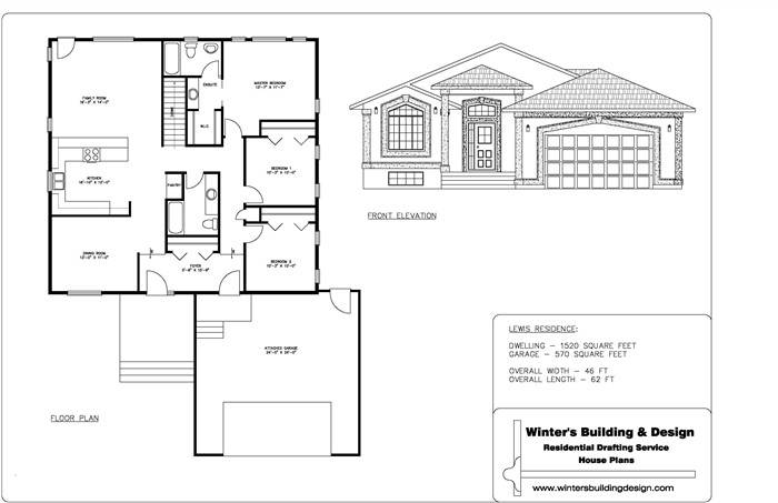 Sample Drawing Set Complete Package House Designs   House Plans . Part 6