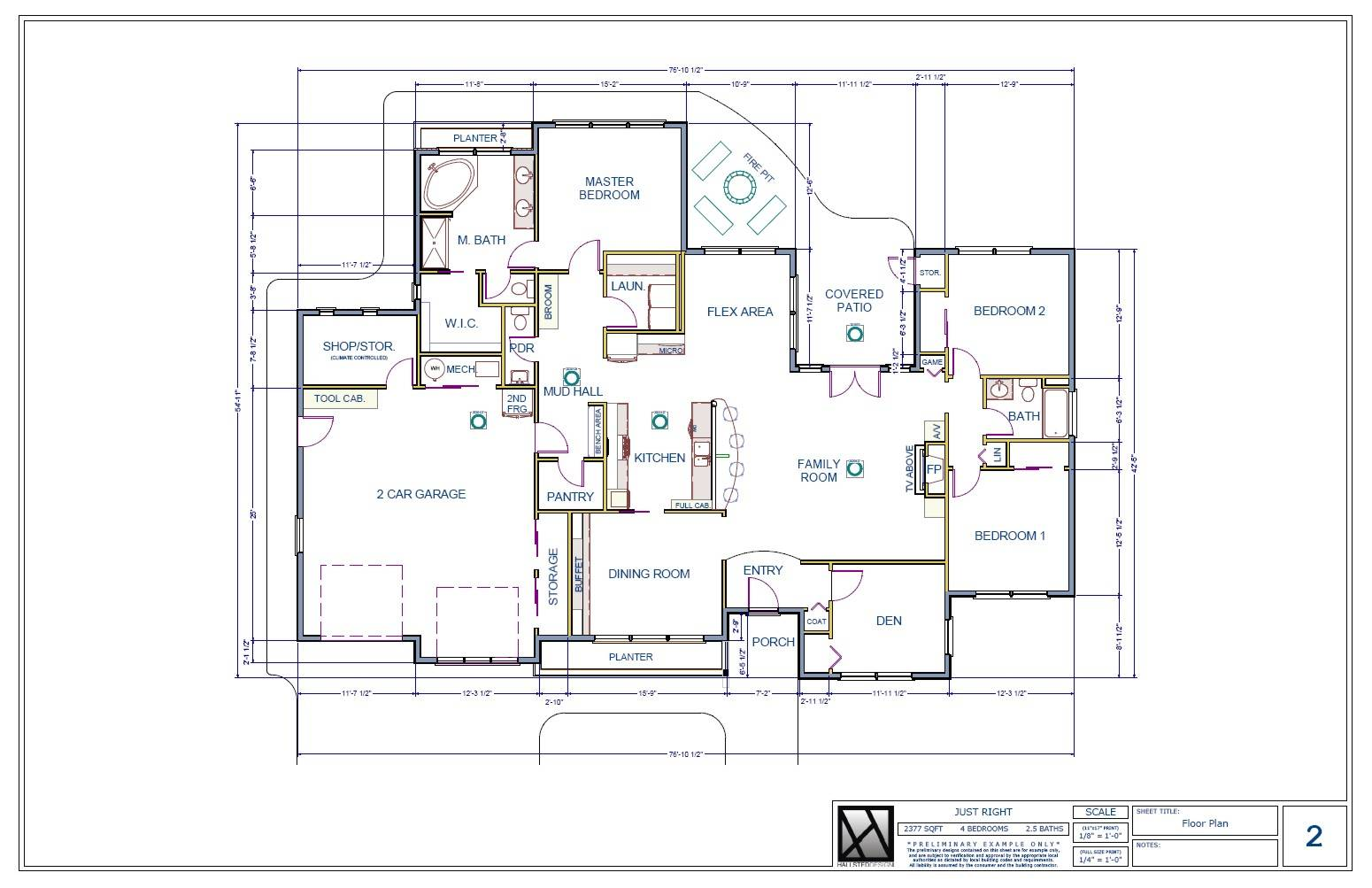 Sample Floor Plan Of A House House Design Ideas